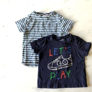 Zara and Gap boys shirts